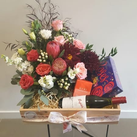 Gift Hamper with Flowers