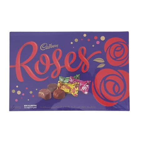 Cadbury Roses Chocolate Box 450g